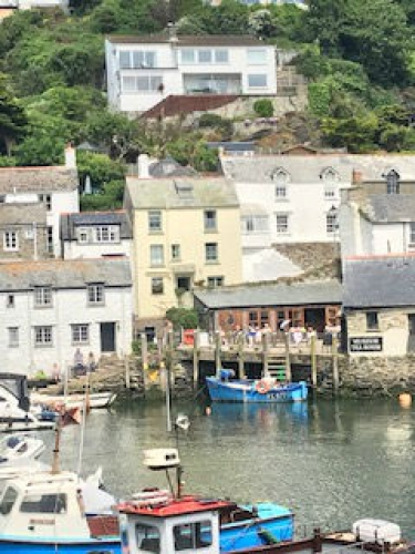 Polperro easily reached from Badger's central location in Cornwall