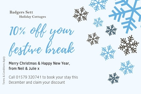 holiday cottage deals Cornwall Christmas 2018