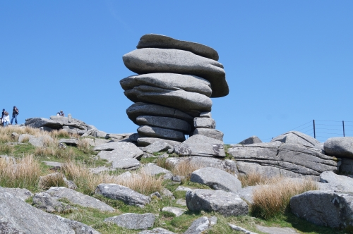 The Cheesewring is approximately 3,500 years old, located Bodmin Moor