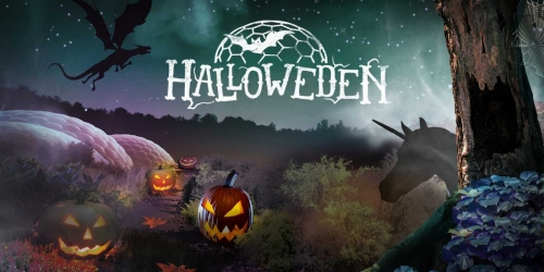 Halloween at Eden Project