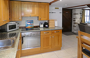 Well equipped modern kitchen