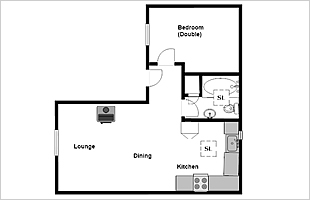 Rosemary Cottage floor plan
